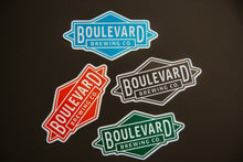 Load image into Gallery viewer, Four Boulevard Diamond logo sticker in different colors