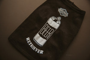 """Beer Retriever"" can illustration Dog Tank Top"