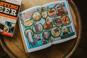 Comic Book Story of Beer open page