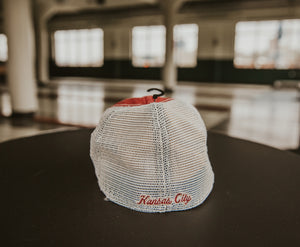 Diamond Logo Closer Cap - Red back