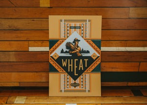 Hammerpress Wheat Poster