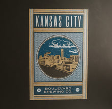 Load image into Gallery viewer, Hammerpress KC Poster grey background