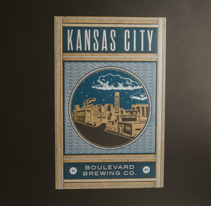 Hammerpress KC Poster grey background