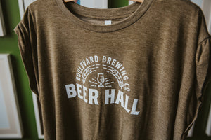 Women's Beer Hall Tee Closeup