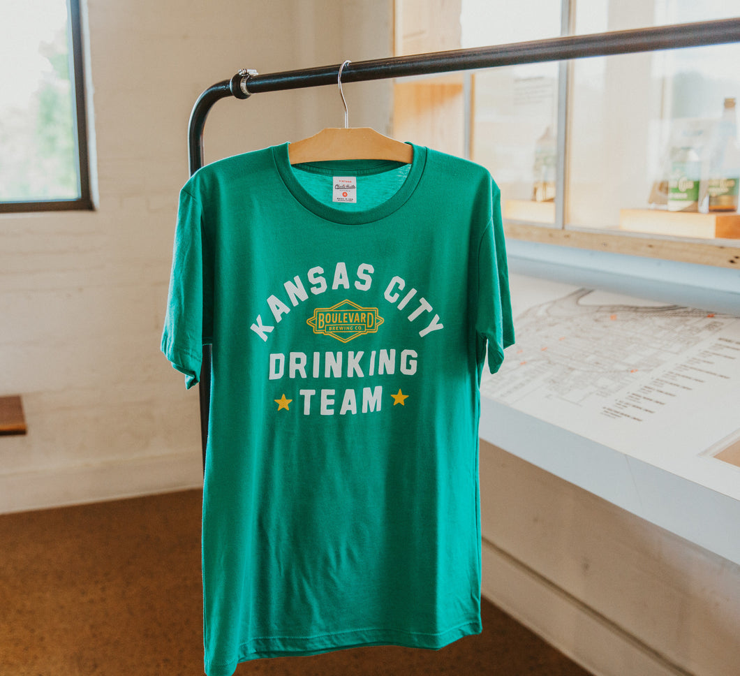 St. Pat's Drinking Team Tee Front