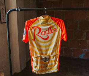 Radler Bicycle Jersey Hanging Back