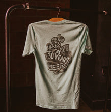 Load image into Gallery viewer, 30 Years of Beers Tee Back
