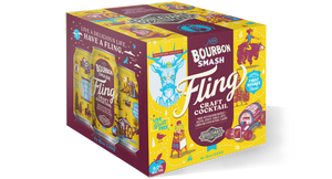 Fling Bourbon Smash Four Pack 12 oz cans BOX
