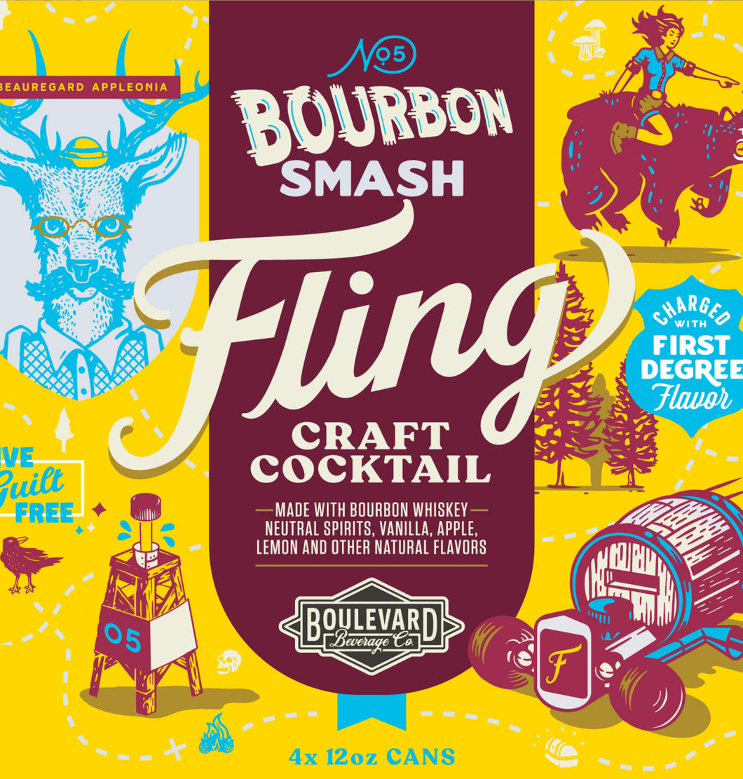 Fling Bourbon Smash LOGO