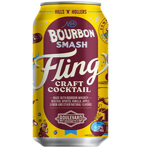 Fling Bourbon Smash 12 oz can