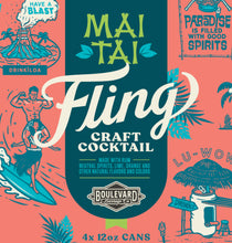 Load image into Gallery viewer, Fling Mai Tai Four Pack 12 oz cans LOGO