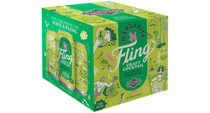 Fling Margarita Four Pack 12 oz cans BOX