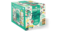 Load image into Gallery viewer, Fling Mojito Four Pack 12 oz cans BOX