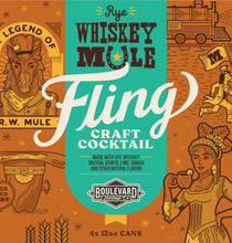 Load image into Gallery viewer, Fling Rye Whiskey Mule LOGO
