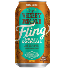 Load image into Gallery viewer, Fling Rye Whiskey Mule 12 oz can
