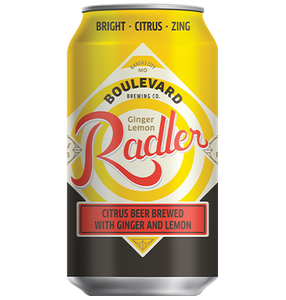 Ginger Lemon Radler Six Pack 12 oz cans CAN