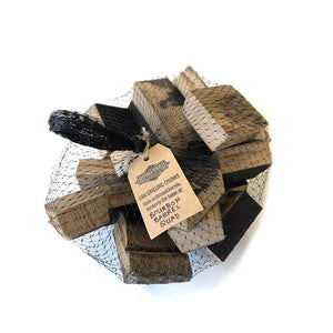 Oak Grilling Chunks 2 lbs. top