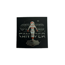 Load image into Gallery viewer, BLVD Space Camper Pin with Space Camper logo in background