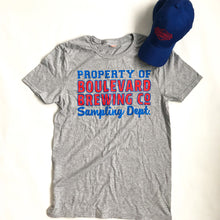 Load image into Gallery viewer, Collegiate Hat & Tee Combo red and blue front