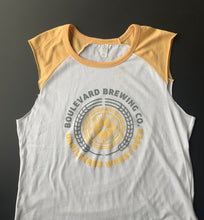 Load image into Gallery viewer, Women's Unfiltered Wheat Vintage Tank Laying Front