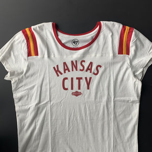 Women's Kansas City Blowout Tee Laying front