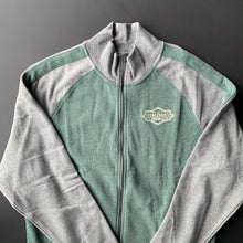 Load image into Gallery viewer, Boulevard Logo Track Jacket Front laying