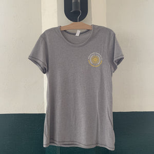 Women's Wheat Circle Tee Front Hanging