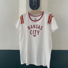 Load image into Gallery viewer, Women's Kansas City Blowout Tee Hanging Front