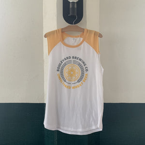Women's Unfiltered Wheat Vintage Tank Hanging Front