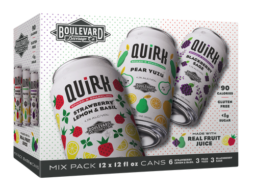 Quirk 12 pack box packaging