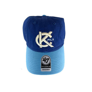 KC Pils Two-Tone Clean Up Cap top with white background