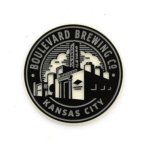 Brewery Magnet white background