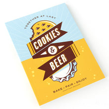 Load image into Gallery viewer, Cookies and Beer Book cover clean