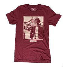 Load image into Gallery viewer, American Gothic Tee Front Laying