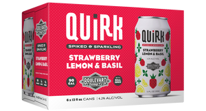 Quirk Strawberry Lemon & Basil Six Pack Box