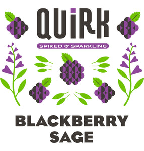 Quirk Blackberry Sage Logo