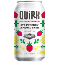 Load image into Gallery viewer, Quirk Strawberry Lemon & Basil Can