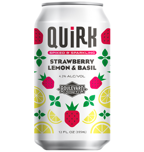 Quirk Strawberry Lemon & Basil Can
