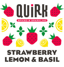 Load image into Gallery viewer, Quirk Strawberry Lemon & Basil Logo