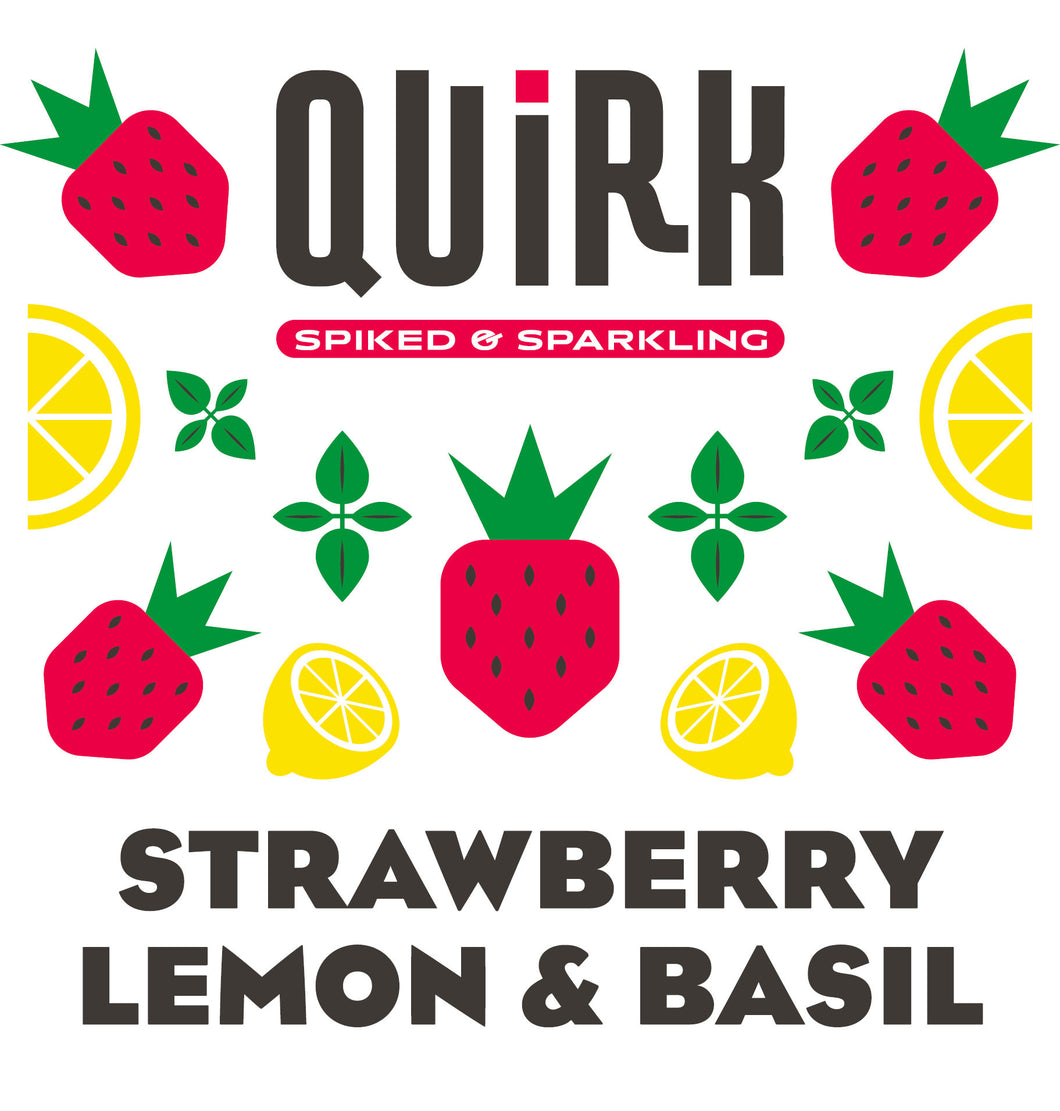 Quirk Strawberry Lemon & Basil Logo