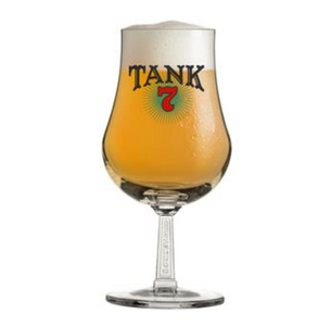 Tank 7 SS Stem Tulip Glass with beer