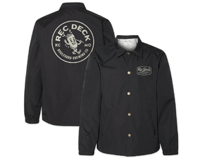 Rec Deck Jacket Front and Back