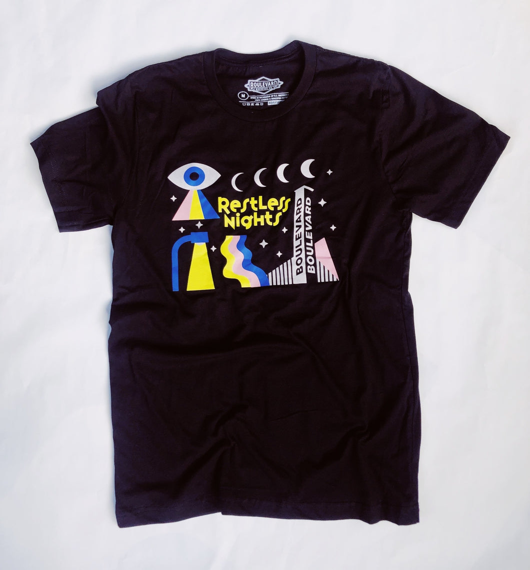 Restless Nights Tee Front
