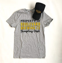 Load image into Gallery viewer, Collegiate Hat & Tee Combo Black and Yellow Front