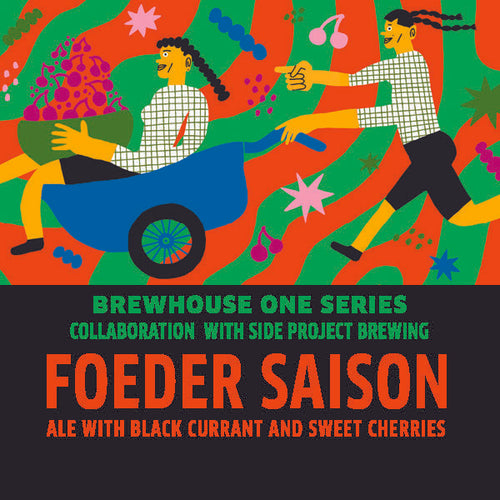 BH1 Foeder Saison Ale with Black Currant and Sweet Cherries LOGO