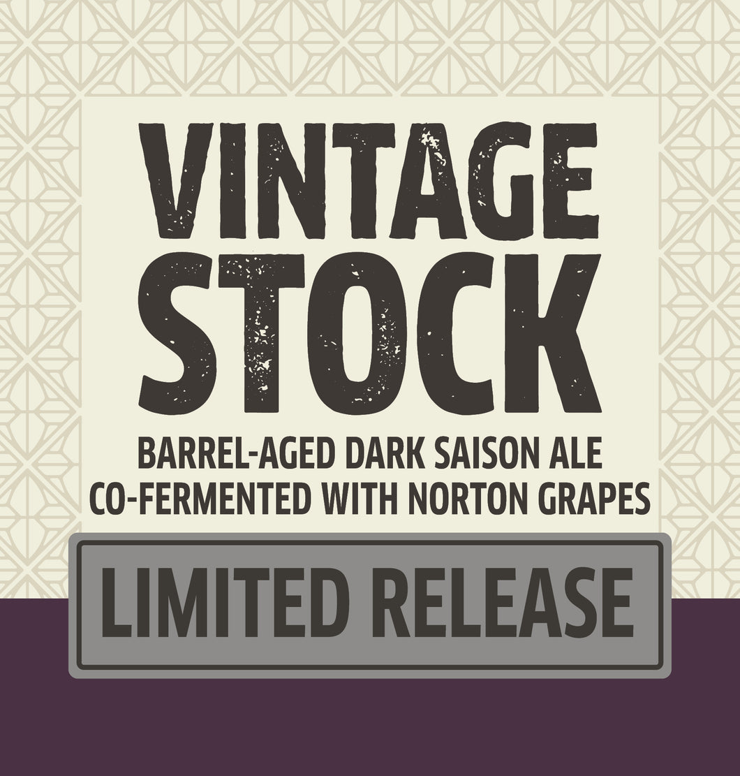 Vintage Stock Barrel-Aged LOGO