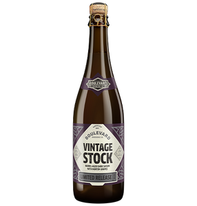 Vintage Stock Barrel-Aged bottle