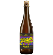 Load image into Gallery viewer, BH1 Wild Saison Ale with Riesling Juice 750mL bottle front