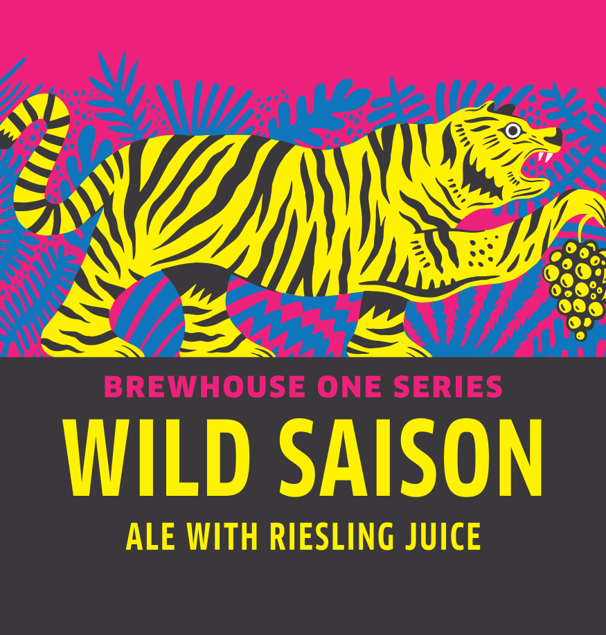 BH1 Wild Saison Ale with Riesling Juice 750mL Logo