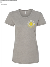 Load image into Gallery viewer, Women's Wheat Circle Tee Front